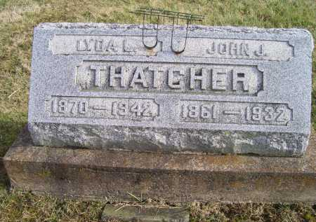 THATCHER, LYDA L. - Adams County, Ohio | LYDA L. THATCHER - Ohio Gravestone Photos