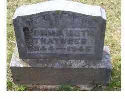 THATCHER, NORMA RUTH - Adams County, Ohio | NORMA RUTH THATCHER - Ohio Gravestone Photos