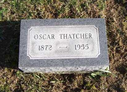 THATCHER, OSCAR - Adams County, Ohio | OSCAR THATCHER - Ohio Gravestone Photos
