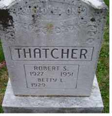 THATCHER, ROBERT S. - Adams County, Ohio | ROBERT S. THATCHER - Ohio Gravestone Photos