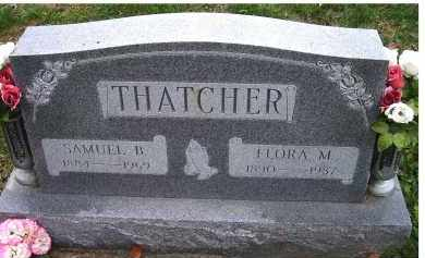 THATCHER, SAMUEL B. - Adams County, Ohio | SAMUEL B. THATCHER - Ohio Gravestone Photos