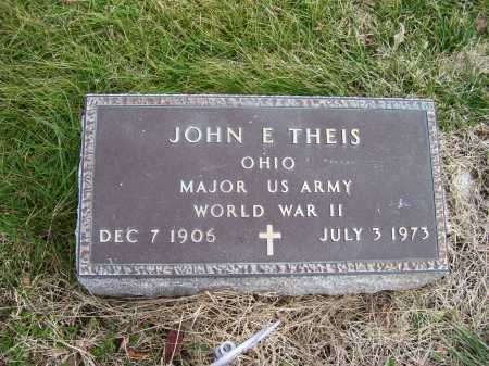 THEIS, JOHN E. - Adams County, Ohio | JOHN E. THEIS - Ohio Gravestone Photos