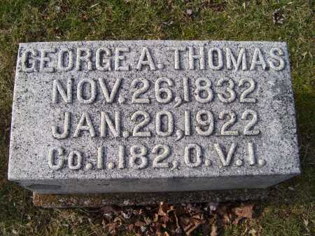 THOMAS, GEORGE A. - Adams County, Ohio | GEORGE A. THOMAS - Ohio Gravestone Photos