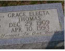 THOMAS, GRACE ELECTA - Adams County, Ohio | GRACE ELECTA THOMAS - Ohio Gravestone Photos