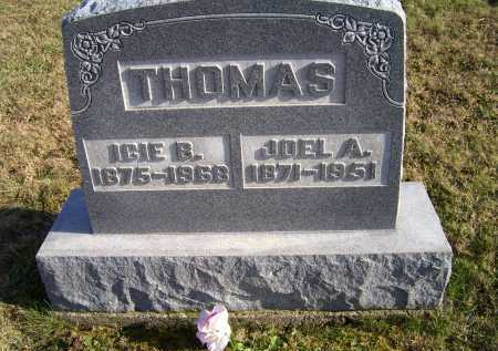 THOMAS, ICIE B. - Adams County, Ohio | ICIE B. THOMAS - Ohio Gravestone Photos