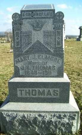 THOMAS, MARY J. - Adams County, Ohio | MARY J. THOMAS - Ohio Gravestone Photos
