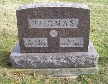THOMAS, P.O. - Adams County, Ohio | P.O. THOMAS - Ohio Gravestone Photos