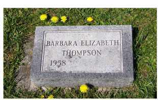 THOMPSON, BARBARA ELIZABETH - Adams County, Ohio | BARBARA ELIZABETH THOMPSON - Ohio Gravestone Photos