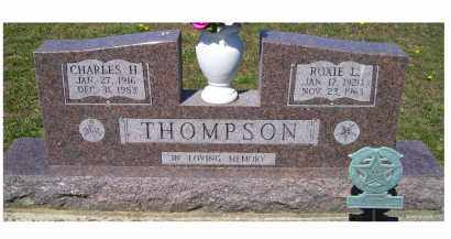 THOMPSON, ROXIE L. - Adams County, Ohio | ROXIE L. THOMPSON - Ohio Gravestone Photos