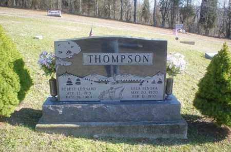 THOMPSON, LELA ELNORA - Adams County, Ohio | LELA ELNORA THOMPSON - Ohio Gravestone Photos