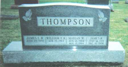 THOMPSON, WILLIAM T.R. - Adams County, Ohio | WILLIAM T.R. THOMPSON - Ohio Gravestone Photos