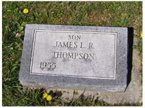 THOMPSON, JAMES L.R. - Adams County, Ohio | JAMES L.R. THOMPSON - Ohio Gravestone Photos
