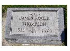 THOMPSON, JAMES ROGER - Adams County, Ohio | JAMES ROGER THOMPSON - Ohio Gravestone Photos