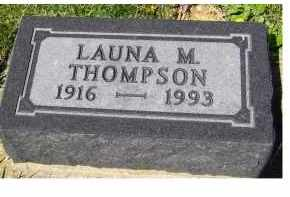 THOMPSON, LAUNA M. - Adams County, Ohio | LAUNA M. THOMPSON - Ohio Gravestone Photos