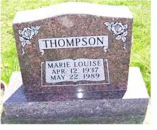 THOMPSON, MARIE LOUISE - Adams County, Ohio | MARIE LOUISE THOMPSON - Ohio Gravestone Photos