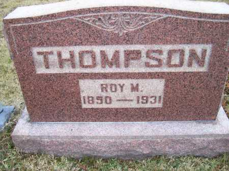 THOMPSON, ROY M. - Adams County, Ohio | ROY M. THOMPSON - Ohio Gravestone Photos