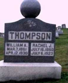 THOMPSON, WILLIAM A. - Adams County, Ohio | WILLIAM A. THOMPSON - Ohio Gravestone Photos
