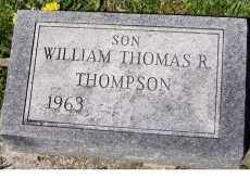 THOMPSON, WILLIAM THOMAS R. - Adams County, Ohio | WILLIAM THOMAS R. THOMPSON - Ohio Gravestone Photos