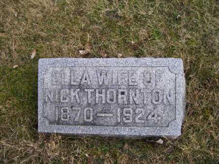 THORNTON, ELLA - Adams County, Ohio | ELLA THORNTON - Ohio Gravestone Photos