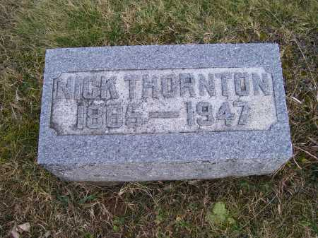 THORNTON, NICK - Adams County, Ohio | NICK THORNTON - Ohio Gravestone Photos