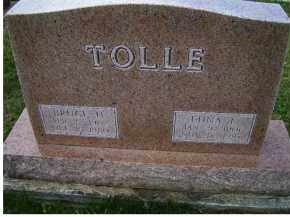 TOLLE, EDNA L. - Adams County, Ohio | EDNA L. TOLLE - Ohio Gravestone Photos