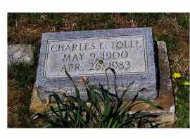 TOLLE, CHARLES E. - Adams County, Ohio | CHARLES E. TOLLE - Ohio Gravestone Photos