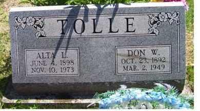 TOLLE, DON W. - Adams County, Ohio | DON W. TOLLE - Ohio Gravestone Photos