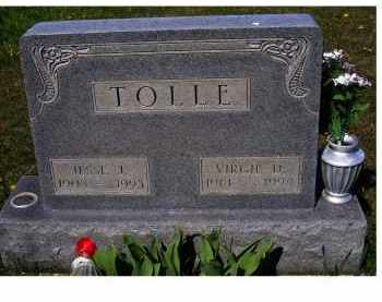 TOLLE, VIRGIE D. - Adams County, Ohio | VIRGIE D. TOLLE - Ohio Gravestone Photos
