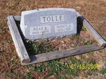 TOLLE, NANCY - Adams County, Ohio | NANCY TOLLE - Ohio Gravestone Photos