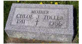 TOLLER, CHLOE J. - Adams County, Ohio | CHLOE J. TOLLER - Ohio Gravestone Photos