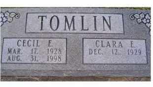 TOMLIN, CECIL E. - Adams County, Ohio | CECIL E. TOMLIN - Ohio Gravestone Photos