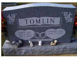 TOMLIN, GARY LEE - Adams County, Ohio | GARY LEE TOMLIN - Ohio Gravestone Photos