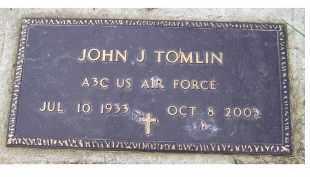 TOMLIN, JOHN J. - Adams County, Ohio | JOHN J. TOMLIN - Ohio Gravestone Photos
