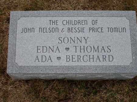 TOMLIN, THOMAS - Adams County, Ohio | THOMAS TOMLIN - Ohio Gravestone Photos