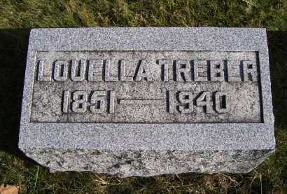 TREBER, LOUELLA - Adams County, Ohio | LOUELLA TREBER - Ohio Gravestone Photos