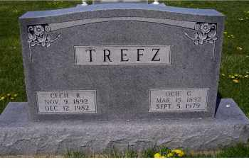 TREFZ, OCIE C. - Adams County, Ohio | OCIE C. TREFZ - Ohio Gravestone Photos
