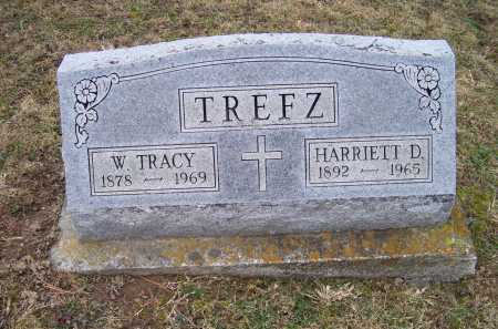 TREFZ, W. TRACY - Adams County, Ohio | W. TRACY TREFZ - Ohio Gravestone Photos