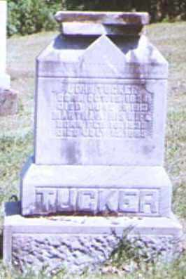 TUCKER, JOHN - Adams County, Ohio | JOHN TUCKER - Ohio Gravestone Photos