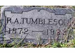 TUMBLESON, R. A. - Adams County, Ohio | R. A. TUMBLESON - Ohio Gravestone Photos