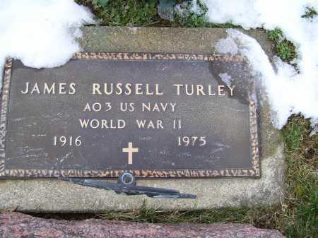 TURLEY, JAMES RUSSELL - Adams County, Ohio | JAMES RUSSELL TURLEY - Ohio Gravestone Photos