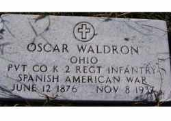 WALDRON, OSCAR - Adams County, Ohio | OSCAR WALDRON - Ohio Gravestone Photos