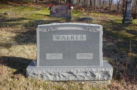 WALKER, MARY - Adams County, Ohio | MARY WALKER - Ohio Gravestone Photos