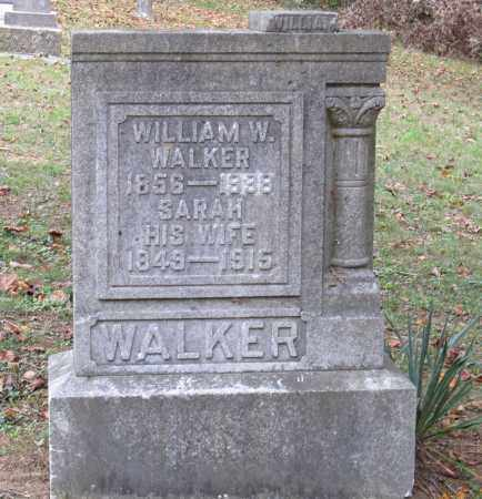 WALKER, WILLIAM - Adams County, Ohio | WILLIAM WALKER - Ohio Gravestone Photos