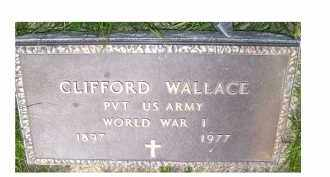 WALLACE, CLIFFORD - Adams County, Ohio | CLIFFORD WALLACE - Ohio Gravestone Photos