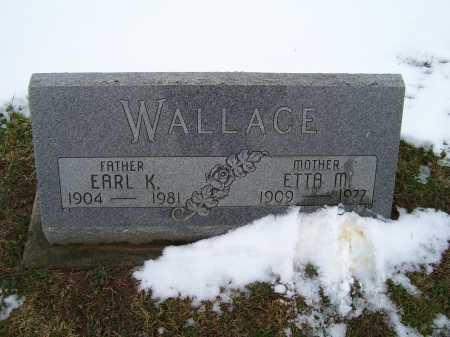 WALLACE, ETTA M. - Adams County, Ohio | ETTA M. WALLACE - Ohio Gravestone Photos