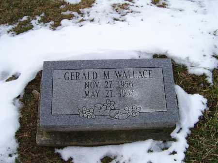 WALLACE, GERALD M. - Adams County, Ohio | GERALD M. WALLACE - Ohio Gravestone Photos