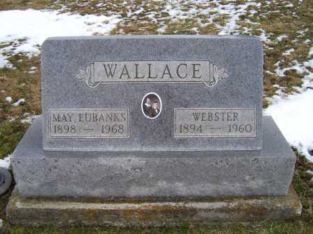 WALLACE, WEBSTER - Adams County, Ohio | WEBSTER WALLACE - Ohio Gravestone Photos