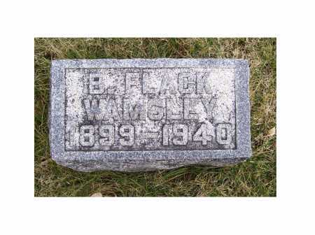 WAMSLEY, B. FLACK - Adams County, Ohio | B. FLACK WAMSLEY - Ohio Gravestone Photos