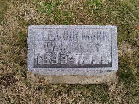 WAMSLEY, ELEANOR - Adams County, Ohio | ELEANOR WAMSLEY - Ohio Gravestone Photos