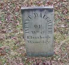 WAMSLEY, INFANT - Adams County, Ohio | INFANT WAMSLEY - Ohio Gravestone Photos